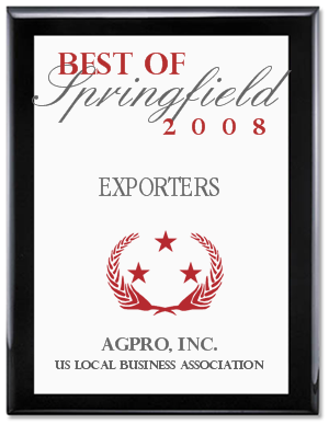the 2008 Best of Springfield Award